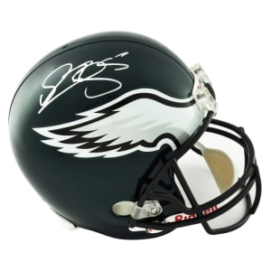 Donovan McNabb Philadelphia Eagles Fanatics Authentic Autographed Riddell Replica Helmet