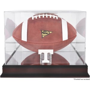 Tennessee Volunteers Fanatics Authentic Mahogany Base Logo Football Case with Mirror Back