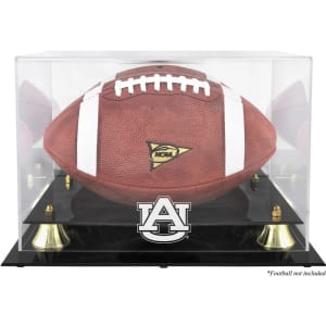 Auburn Tigers Fanatics Authentic Golden Classic Football Display Case with Mirror Back