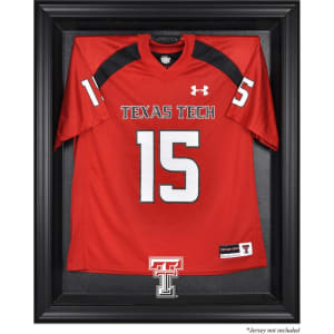 Texas Tech Red Raiders Fanatics Authentic Black Framed Logo Jersey Display Case
