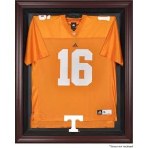 Tennessee Volunteers Fanatics Authentic Mahogany Framed Logo Jersey Display Case