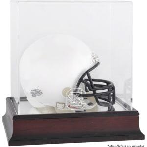 South Carolina Gamecocks Fanatics Authentic Mahogany Logo Mini Helmet Display Case with Mirror Back