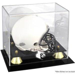 Louisville Cardinals Fanatics Authentic Golden Classic Logo Mini Helmet