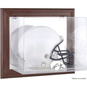 Iowa Hawkeyes Fanatics Authentic Brown Framed Wall-Mountable Helmet Display Case