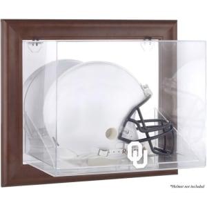 Oklahoma Sooners Fanatics Authentic Brown Framed Wall-Mountable Helmet Display Case