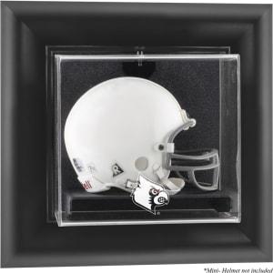 Louisville Cardinals Fanatics Authentic Black Framed Logo Wall-Mountable Mini Helmet Display Case