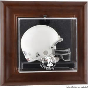 Florida State Seminoles Fanatics Authentic Brown Framed Wall-Mountable Mini Helmet Display Case