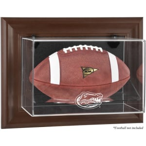 Florida Gators Fanatics Authentic Brown Framed Wall-Mountable Football Display Case