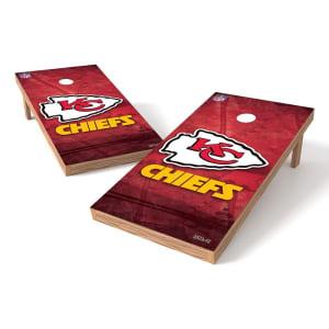 Kansas City Chiefs 2' x 4' Cornhole Board Tailgate Toss XL Set