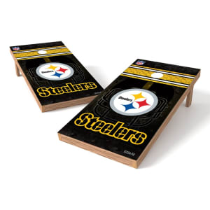 Pittsburgh Steelers 2' x 4' Cornhole Board Tailgate Toss XL Set