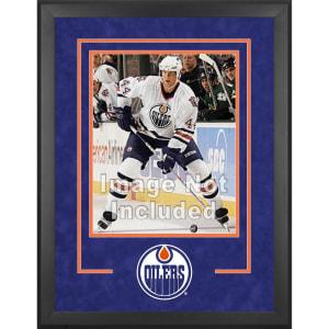"Edmonton Oilers Fanatics Authentic 16"" x 20"" Deluxe Vertical Photograph Frame"