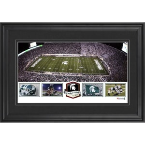 Michigan State Spartans Fanatics Authentic Framed Spartan Stadium Panoramic Collage-Limited Edition of 500