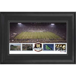 Notre Dame Fighting Irish Fanatics Authentic Framed Notre Dame Stadium Panoramic Collage-Limited Edition of 500