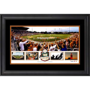 Texas Longhorns Fanatics Authentic Framed UFCU Disch-Falk Field Panoramic Collage-Limited Edition of 500