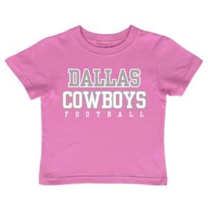 Dallas Cowboys Toddler Girls Practice T-Shirt - Pink
