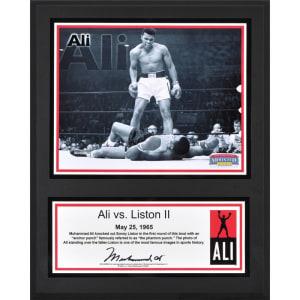 "Muhammad Ali Fanatics Authentic 12"" x 15"" vs. Liston II Sublimated Plaque"
