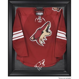 Arizona Coyotes Fanatics Authentic Black Framed Logo Jersey Display Case