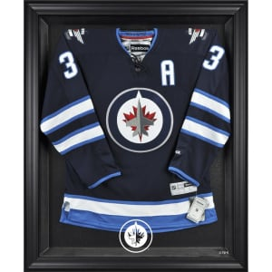Winnipeg Jets Fanatics Authentic Black Framed Jersey Display Case