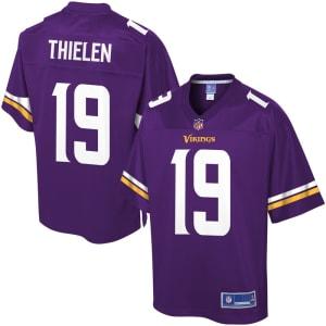 Adam Thielen Minnesota Vikings NFL Pro Line Team Color Player Jersey - Purple