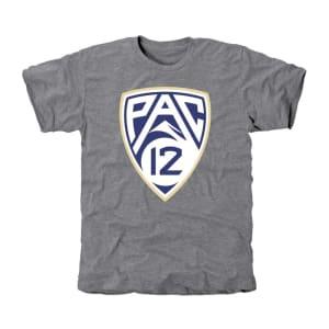 Washington Huskies PAC-12 Team Colors Tri-Blend T-Shirt - Ash
