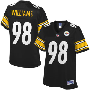 NFL Pro Line Women's Pittsburgh Steelers Vince Williams Team Color Jersey - Black