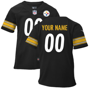 Nike Pittsburgh Steelers Infant Customized Game Team Color Jersey
