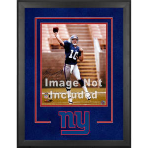 "New York Giants Fanatics Authentic 16"" x 20"" Deluxe Vertical Photograph Frame with Team Logo"