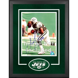 "New York Jets Fanatics Authentic 16"" x 20"" Deluxe Vertical Photograph Frame with Team Logo"