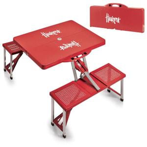 Nebraska Cornhuskers Picnic Table - Scarlet
