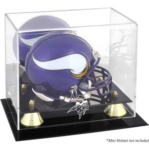 Minnesota Vikings Fanatics Authentic (2013-Present) Golden Classic Mini Helmet Display Case