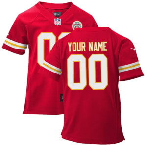 Nike Toddler Kansas City Chiefs Customized Team Color Game Jersey