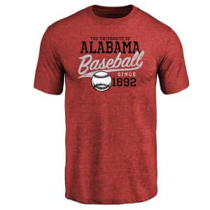 Alabama Crimson Tide Ballpark Tri-Blend T-Shirt - Crimson