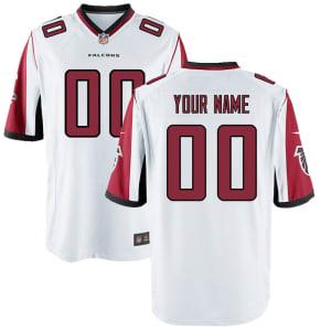 Atlanta Falcons Nike Youth Custom Game Jersey - White
