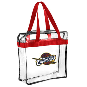 Cleveland Cavaliers Clear Messenger Basic Tote Bag