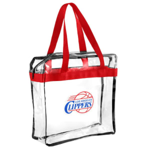 LA Clippers Clear Messenger Basic Tote Bag