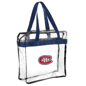 Montreal Canadiens Clear Messenger Basic Tote Bag
