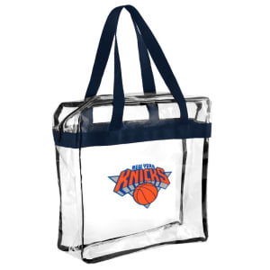 New York Knicks Clear Messenger Basic Tote Bag