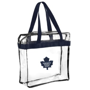Toronto Maple Leafs Clear Messenger Basic Tote Bag