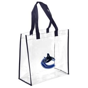 Vancouver Canucks Clear Reusable Bag