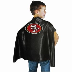 San Francisco 49ers Hero Cape - Black