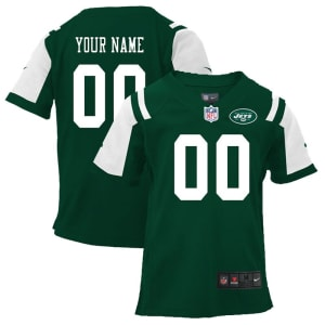 Nike New York Jets Preschool Customized Team Color Game Jersey