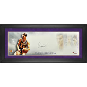 "Jerry West Los Angeles Lakers Fanatics Authentic Framed Autographed 10"" x 30"" Floor General Photograph"