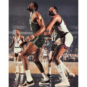 "Bill Russell Boston Celtics Fanatics Authentic Autographed 16"" x 20"" vs. Philadelphia 76ers Photograph"