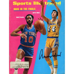 Jerry West Los Angeles Lakers Fanatics Authentic Autographed Back in the Finals Sports Illustrated