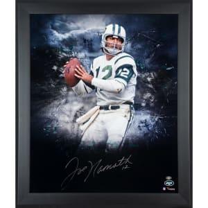 "Joe Namath New York Jets Fanatics Authentic Framed Autographed 20"" x 24"" In Focus Photograph"
