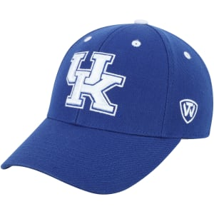 Kentucky Wildcats Top of the World Dynasty Memory Fit Fitted Hat - Royal Blue