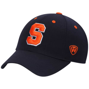 Syracuse Orange Top of the World Dynasty Memory Fit Fitted Hat - Navy