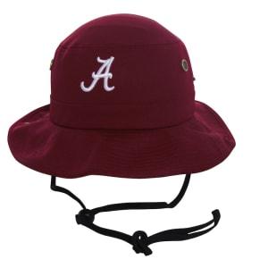 Alabama Crimson Tide Top of the World Angler Bucket Hat - Crimson