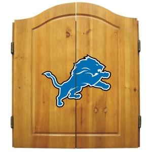 Detroit Lions Dart Cabinet