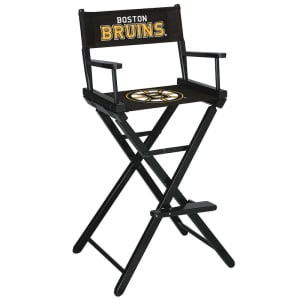 Boston Bruins Bar-Height Directors Chair